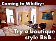 Coming to Whitby? Go on, treat yourself!