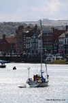 Sailing in Whitby