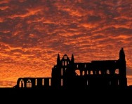 Whitby Abbey at Sunrise