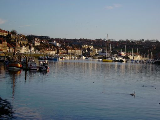 Whitby Harbour!