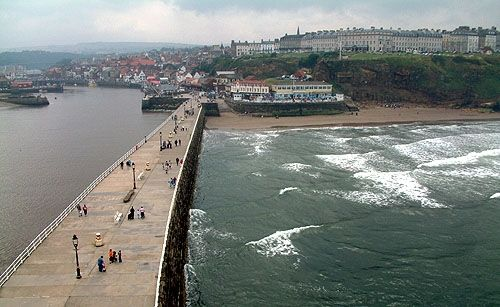 Latvians look Whitby