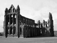 Monochrome Abbey View
