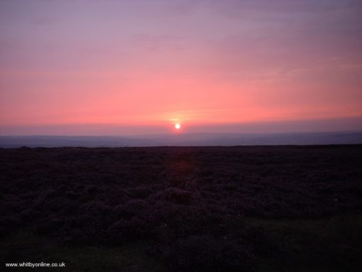 Sunset on the Moor