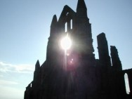 Whitby Abbey in the sun